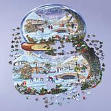 Winter Village Puzzle