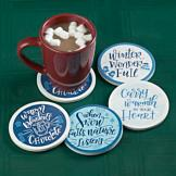 Winter Wonderland Coasters - Set of 4