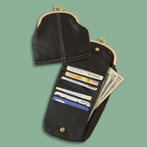 Leather RFID Coin Purse with Billfold