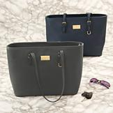 Sarah Coventry Double-Handled Tote Bag - Navy Blue