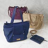 Sarah Coventry Handbag with Double Handles - Navy