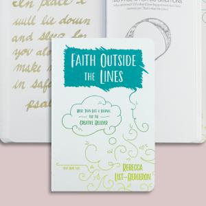 Faith Outside the Lines Activity Book - Rebecca List-Bergeron