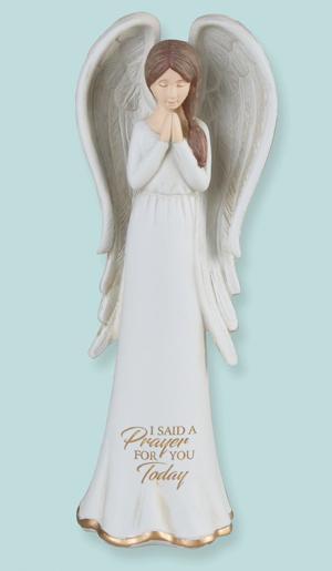 Serene Praying Angel Figurine