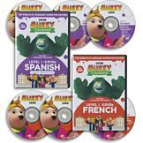 Muzzy in Gondoland Spanish - 3-DVD Set