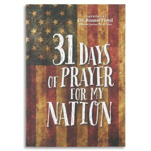 31 Days of Prayer for My Nation Book
