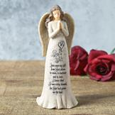 Angel Figurine with God's Gift Poem