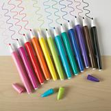 Water-Soluble Color Markers - Set of 12