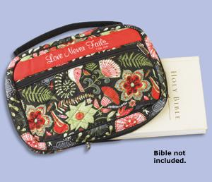 Love Never Fails Bible Cover