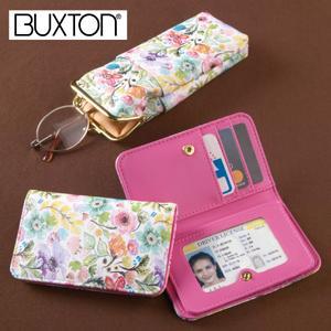Buxton Floral Eyeglasses Case