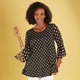 Polka-Dot Swing Top - Small