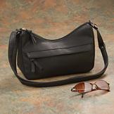 Little Black Leather-Look Bag