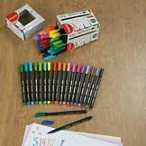 Fine-Point Felt Pens - Set of 60