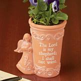 The Lord is My Shepherd Planter