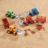 Toy Farmer's Tractor Set
