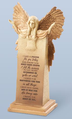 I Said a Prayer for You Angel Figurine
