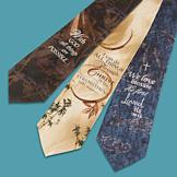 God's Word Necktie - With God All Things Are Possible