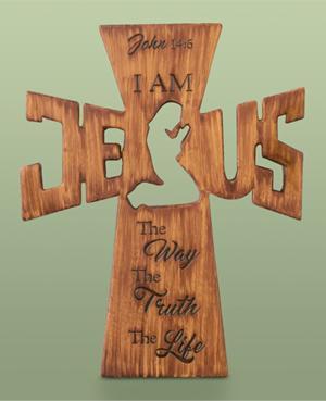 John 14:6 Wall Cross