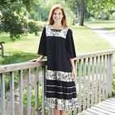 Bohemian Peasant Dress - Missy