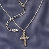 Metalwork Botenee Cross Pendant