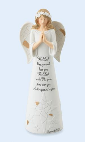 Numbers 6:24-25 Angel Figurine