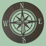 Compass Wall Cross