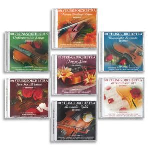 101 Strings Orchestra Collection - 7-CD Set