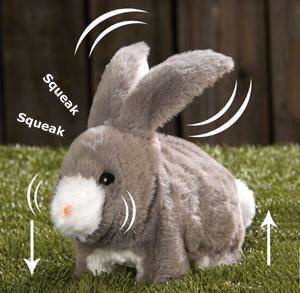 Squeak and Hop Bunny Plush