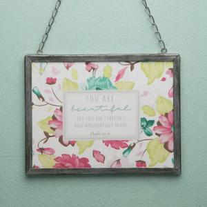 You Are Beautiful Wall Plaque