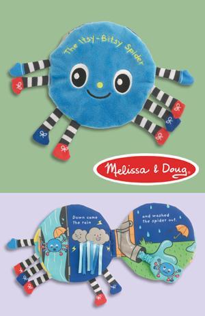 Melissa & Doug Itsy-Bitsy Spider Plush Book
