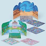 Reusable Sticker Set - Princess Garden