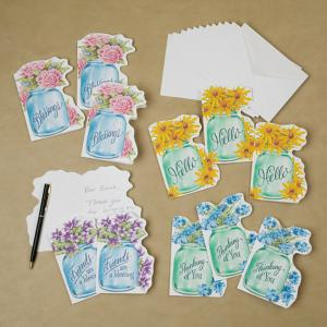 Canning Jar Cards - Set of 12