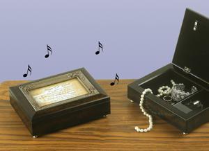 Wings of Gold Memorial Music Box