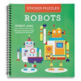 Robot Sticker Puzzle Book