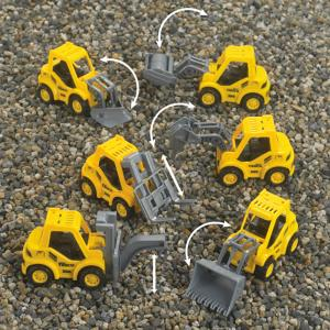 Pull-Back Truck Toys - Pack of 6