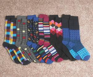 Spunky Men's Sock Collection - Set of 6 Pairs