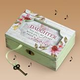 Daughter Musical Keepsake Box