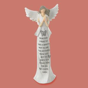 Dear God Angel Figurine