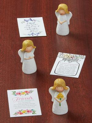 Angel Cherub Figurine - I Said a Prayer