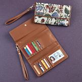 Floral Jacquard Wallet
