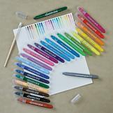 Smooth Stix Watercolor Crayons - 26-Piece Set