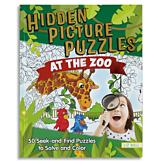 Hidden Picture Puzzles at the Zoo Book
