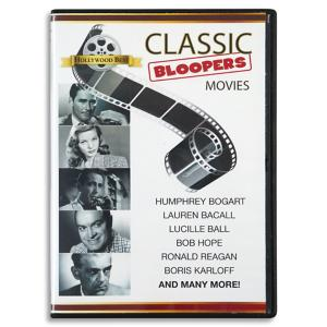 Classic Movie Bloopers DVD