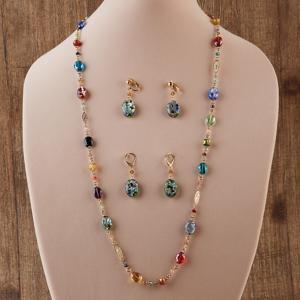 Venetian Art Glass Necklace