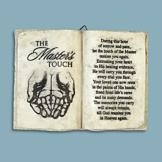 The Master's Touch Book Plaque