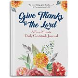 Give Thanks to the Lord Gratitude Journal