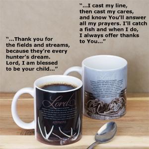 Outdoor Folks Prayer Mug - Fisherman's Prayer