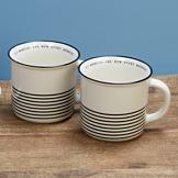 His Mercies Mug - Set of 2