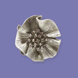 Floral Brooch Pendant