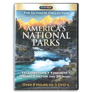 America's National Parks DVDs - Set of 3
