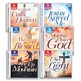 Country Inspirational Gospel and Hymns CDs - Set of 6